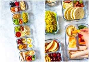 Taking Healthy Food With You in a Bento Box