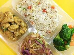 Hire the Foodist for Halal Bento Delivery at your Event